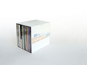 CD-Box Jazz thing Next Generation Vol. 1-10
