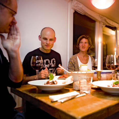 Dieter Ilg, Eric Schaefer und Eva Kruse