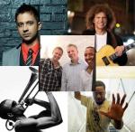 ECHO-Kandidaten: Vijay Iyer, Pat Metheny, Robert Glasper, Trombone Short und das Tingvall Trio