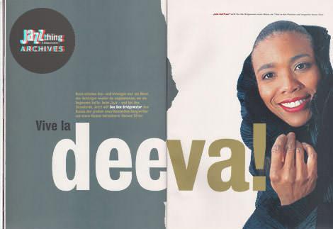 Jazz thing #10 Vive La Deeva!