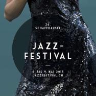 Poster Schaffhauser Jazzfestival 2015 (Ausschnitt)