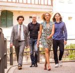 Johanna Schneider mit ihrem Quartett in review plus