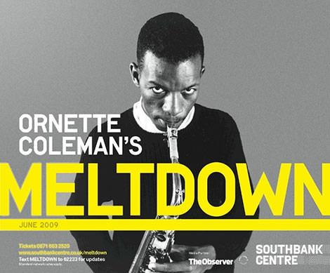 Ornette Coleman's Meltdown (Poster)