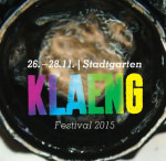 Vom 26. bis 28.11.: KLAENG Festival in Köln