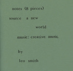 Wadada Leo Smith: Notes 8 Pieces