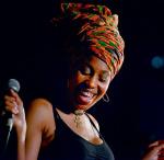 Die Sängerin Jazzmeia Horn