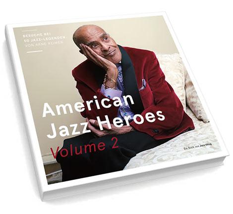 American Jazz Heroes Volume 2 (Cover)
