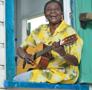 Bei Wassermusik in Berlin: Calypso Rose
