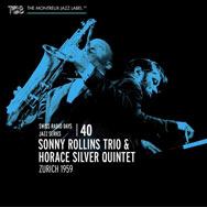 Sonny Rollins Trio / Horace Silver Quintet – Zurich 1959 (Cover)