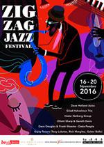 Zig Zag Jazz Festival Berlin 2016 (Poster)