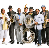 Beim BLue Note Festival: Dirty Dozen Brass Band