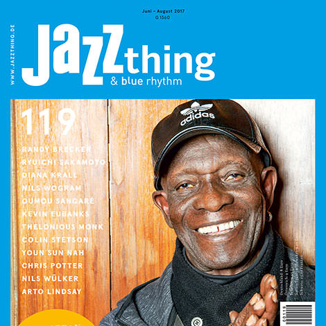 Jazz thing 119 Tony Allen (Cover)