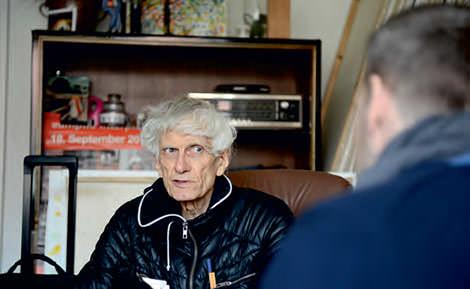 Bei Gunther Hampel (Foto: Lutz Voigtländer)