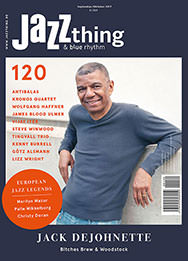 Seit dem 29.8. am Kiosk: Jazz thing 120