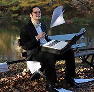 Im Piano-Salon bei den Jazztagen Dresden: Tobias Forster