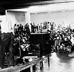 Publikum beim Workshop Freie Musik