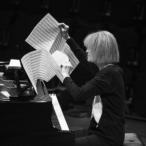 Carla Bley (Foto: Caterina di Perri/ECM Records)