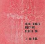 Total Music Meeting 1968