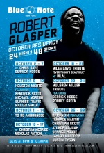 Robert Glasper Residency @ Blue Note (Poster)