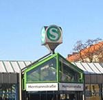 S-Bahnhof Hermannstraße
