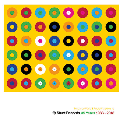 Stunt Records – 35 Years 1983 – 2018 (Cover)