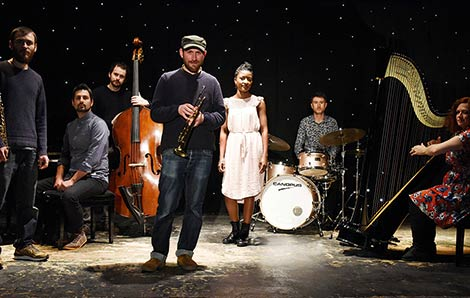 Matthew Halsall & The Gondwana Orchestra (Foto: Simon Hunt)