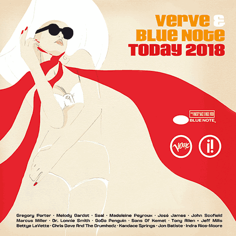 Verve & Blue Note Today 2018 (Cover)