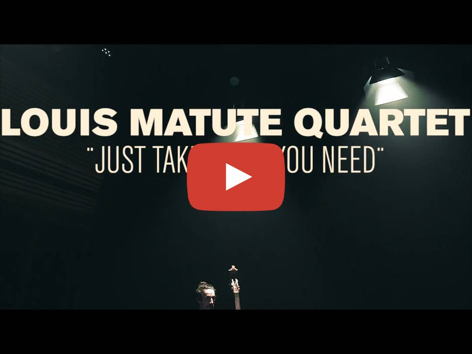Louis Matute Quartet: Just Take What You Need (Screenshot)