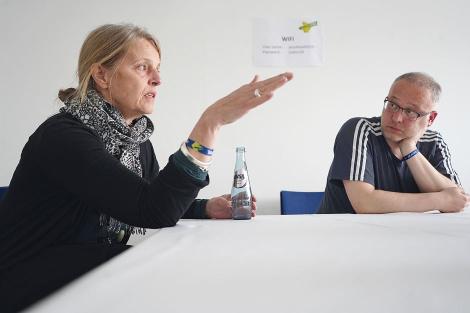 Stefanie Marcus, Andreas Müller (Foto: Ralf Dombrowski)