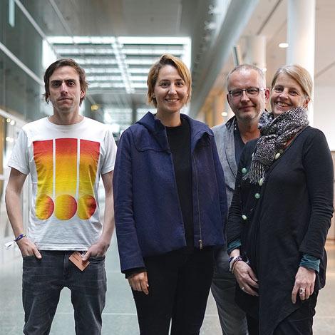Jan Paersch, Tinka Koch, Andreas Müller, Stefanie Marcus (Foto: Ralf Dombrowski)