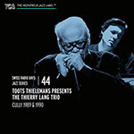 Toots Thielemans presents The Thierry Lang Trio – Cully 1989 & 1990 (Cover)