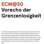 ECM@50 – 50 beispielhafte Cover