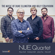 NUE Quartet – The Music Of Duke Ellington And Billy Strayhorn (Cover)