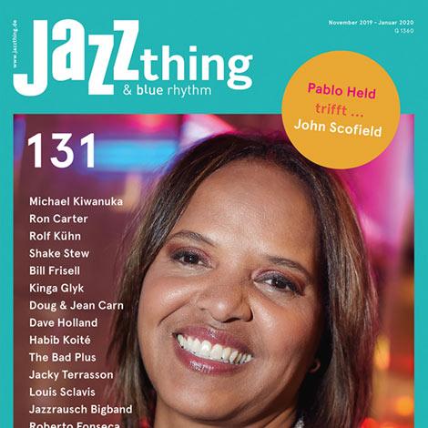 Jatt thing #131 Terry Lyne Carrington (Cover)