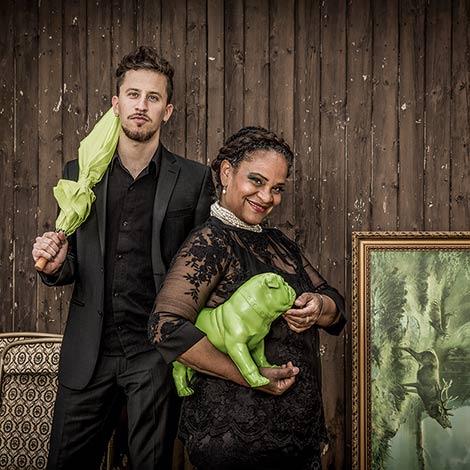 Cécile Verny & Johannes Maikranz (Foto: Britt Schilling)