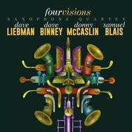 Liebman/Binney/McCaslin/Blais – Four Visions (Cover)