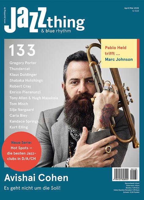 Ausgabe 133 Avishai Cohen (Cover)