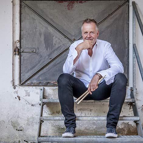 Wolfgang Haffner (Foto: ACT/Antje Wiech)