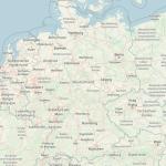 Landkarte BRD (Grafik: openstreepmap.org)