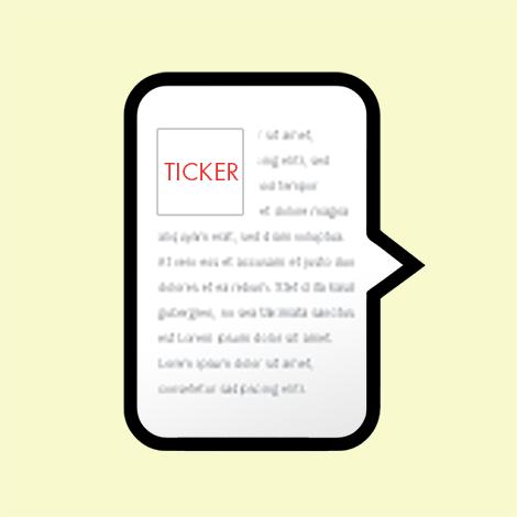 Newsticker (Icon)