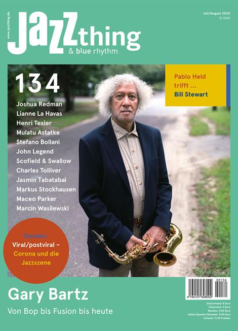 Ausgabe 134 Gary Bartz (Cover)