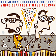 Jerry Granelli Trio – Plays Vince Guaraldi & Mose Allison (Cover)