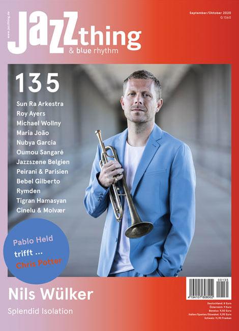 Ausgabe 135 Nils Wülker (Cover)