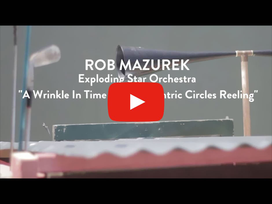 Rob Mazurek's Exploding Star Orchestra - A Wrinkle In Time Sets Concentric Circles Reeling (Screenshot: YouTube)