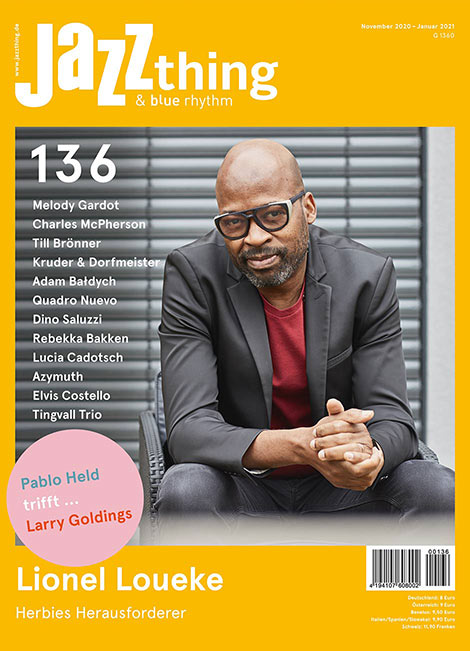 Ausgabe 136 Lionel Loueke (Cover)