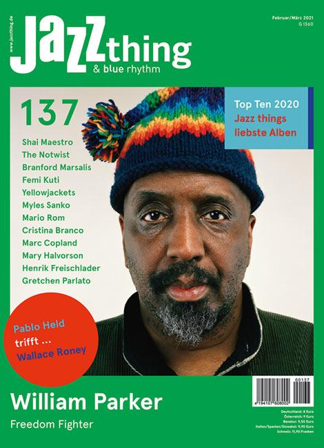 Ausgabe 137 William Parker (Cover)