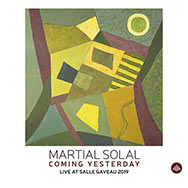 Martial Solal – Coming Yesterday – Live At Salle Gaveau 2019 (Cover)