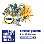 Kosmos | Comic (Grafik: ©Acht Brücken | Valeriy Kachaev)