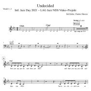Undecided - Vocals zum LAG Jazz NDS Video-Projekt