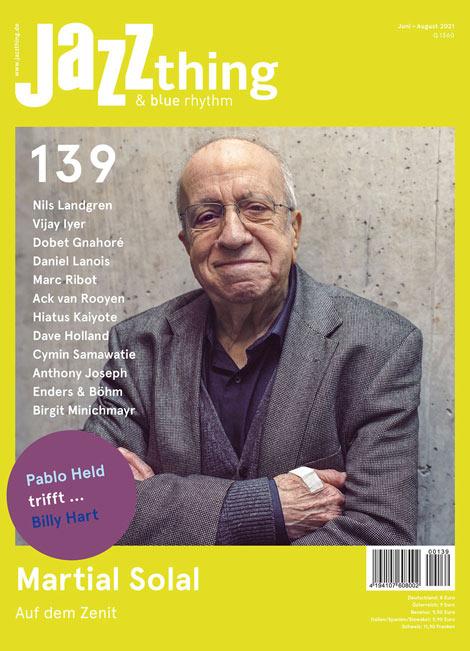 Ausgabe 139 Martial Solal (Cover)